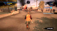Dead rising 2 Case 0 quarantine zone approaching (3)