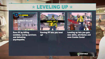 Dead rising 2 tutorial screen leveling up justin tv 00213