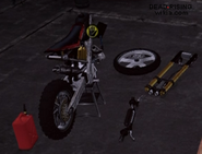 Dead rising 2 case 0 case 0-4 bike parts missing engine