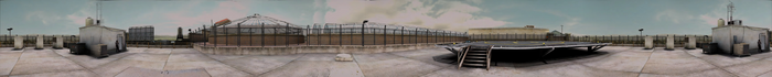 Dead rising PANORAMA heliport COMPLETE