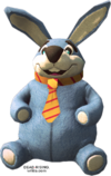 Dead rising Giant Stuffed Rabbit