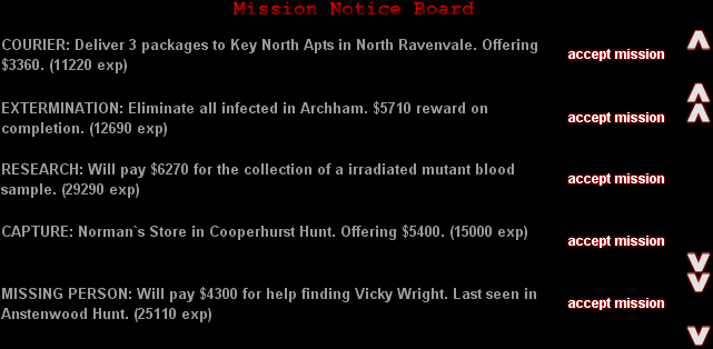 """Mission Notice Board"""