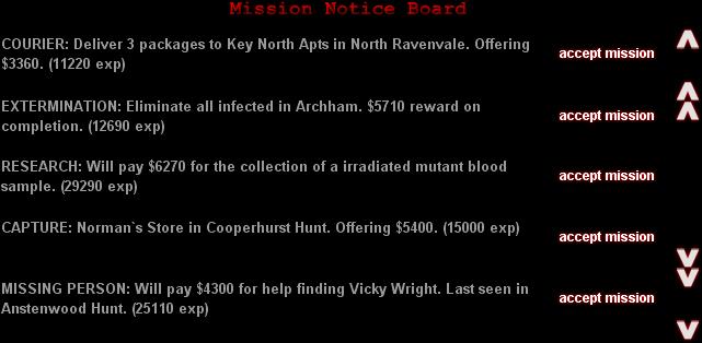 """Mission Notice Board"""