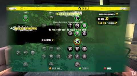 Dead Island - Character Build Guide - Logan