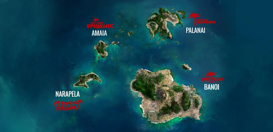 Dead Island Locations List