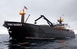 Time Bandit boat
