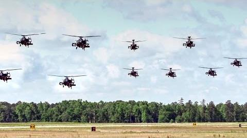 AH-64 Apache Helicopters Mass Launch-0