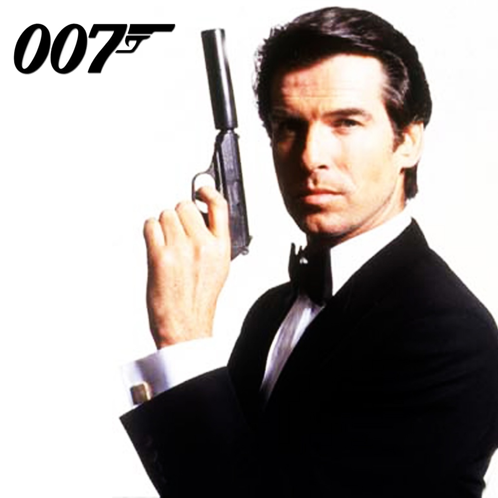 James Bond, also known as 007.