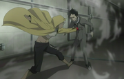 Karako attacks Ganta