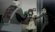 Ganta saves Minatsuki