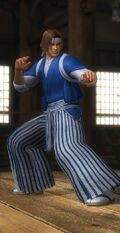 DOA5U Hayate Casual Screen
