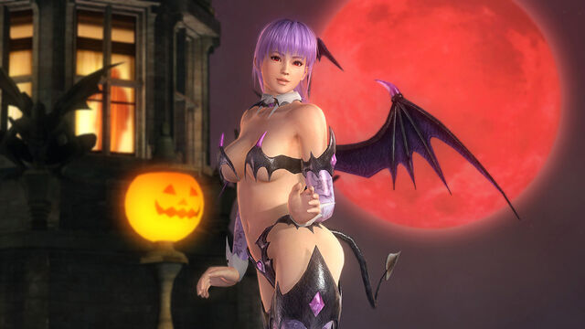 File:DOA5U Ayane Halloween 2014.jpg