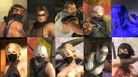 DEAD OR ALIVE 5 Last Round - Ninja Clan 3 Costume Trailer