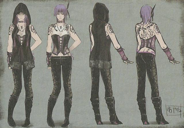 File:FFV Ayane Concept Art.png