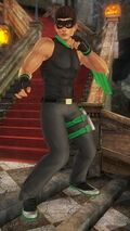 DOA5U halloween vol2 jann lee costume 12