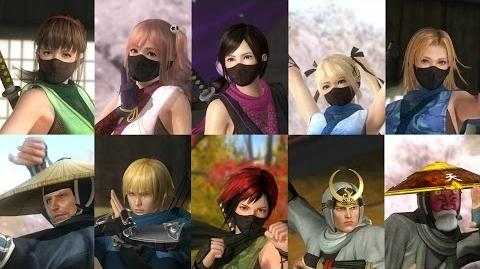 DEAD OR ALIVE 5 Last Round - Ninja Clan 1 Costume Trailer