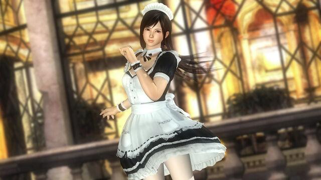 File:DOA5U Kokoro Maid.jpg