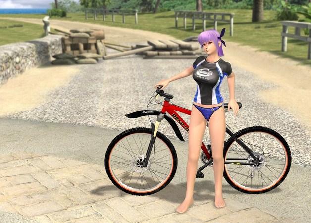 File:DOAX2 Ayane Bike.jpg