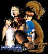 DOA2 1999 characters