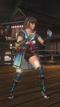 DOA5LR Samurai Warriors Costume Hitomi
