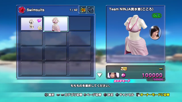 File:Team NINJA Swimsuit (Kokoro).png