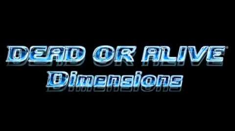 Dead or Alive Dimensions - Main Menu