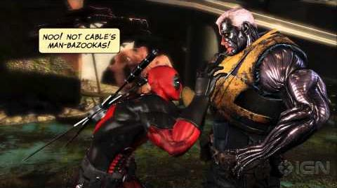 Deadpool The Game's Juvenile But Awesome Trailer