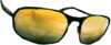 Dead rising Yellow Tinted Glasses