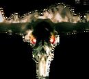 Burning Skull