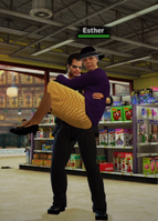 Frank Carries Esther