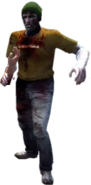 Dead rising zombie gren cap orange shirt