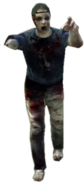 Dead rising zombies backwards cap one-armed scorpion fan