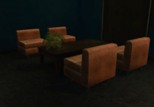 Emerald's Seating Area