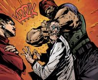 Harjit kills Curnow