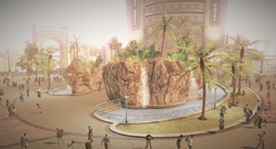 Dead rising Fortune Park Central Grotto hotel background