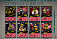 Dead rising Combo Card sheet of 8