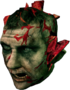Dead rising zombie explodable head