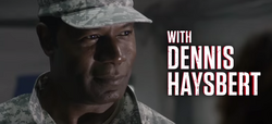 Dennis Haysbert title card