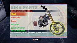 Dead rising 2 case 0 bike parts screen (2)