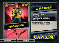 Dead rising 2 combo card Boomstick