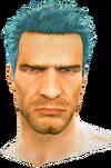 Dead rising Blue Hair