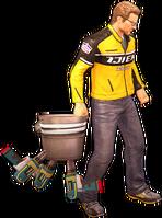 Dead rising drill bucket holding