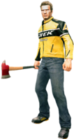 Dead rising fire axe holding
