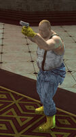 Dead rising Ted with handgun