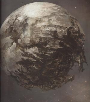 Necro moon concept idle