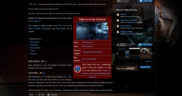 File:Chapter 10- Déjà Vu on the Ishimura - The Dead Space Wiki - Dead Space, Dead Space- Extraction, Dead Space 2, and more 1313813888642.png
