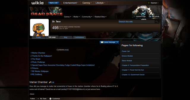 File:User talk-Dr. Taco - The Dead Space Wiki - Dead Space, Dead Space- Extraction, Dead Space 2, and more 1313772033010.png