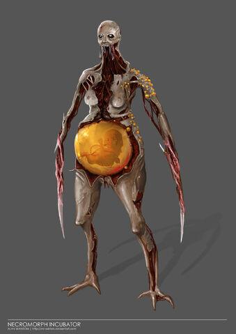 File:Necromorph Incubator by mr winters.jpg