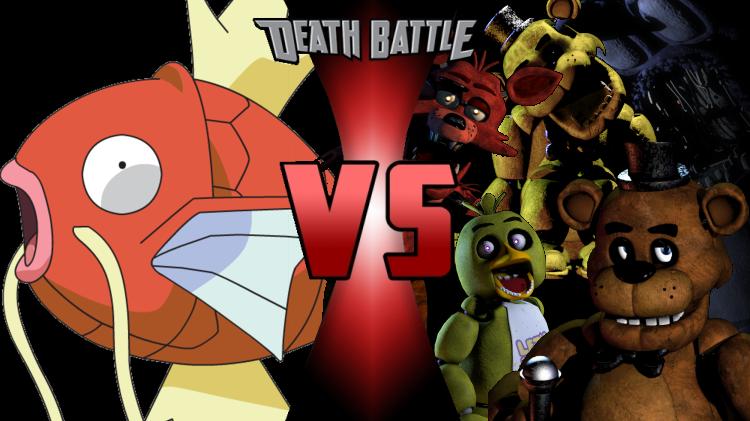 magikarp vs animatronics death battle fanon wiki