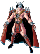 Mortal Kombat - Shao Kahn Concept Art for the Mortal Kombat Trilogy Version
